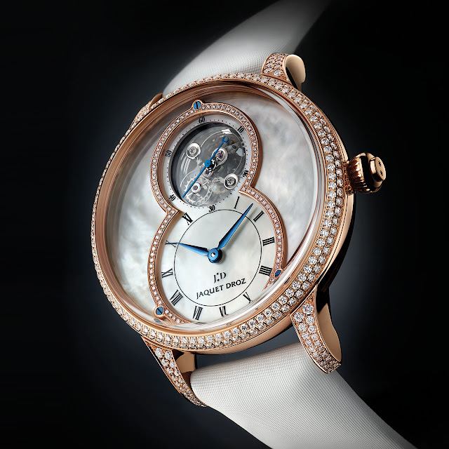 Jaquet Droz Grande Seconde Tourbillon Mother-of-Pearl Mechanical Automatic Watch