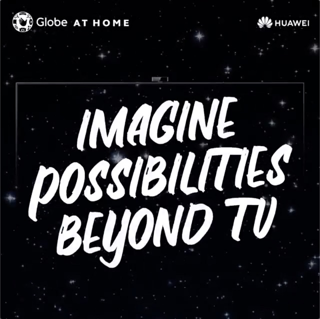 Huawei x Globe at Home