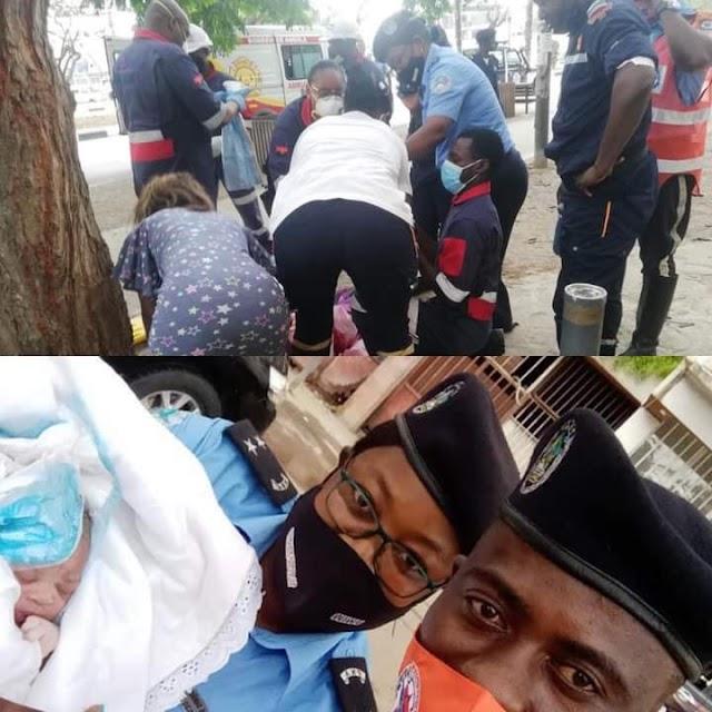 Angola: Agentes da polícia ajudam a trazer um bebê ao mundo