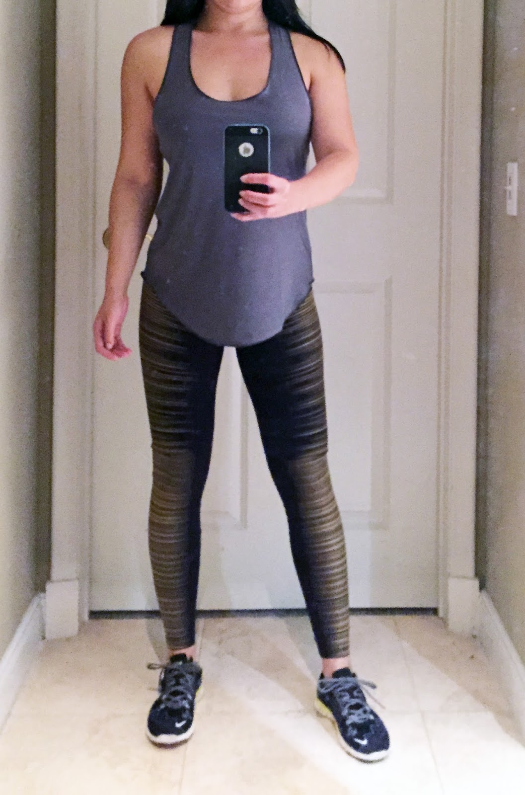 f34c001aa0ab My Superficial Endeavors  My New Love - Onzie Glossy Flow Tank!