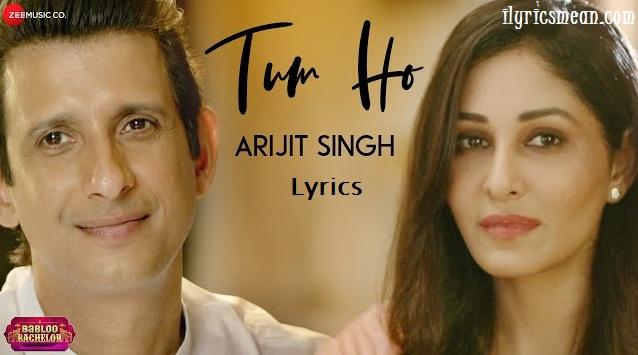 Tum Ho Lyrics - Babloo Bachelor