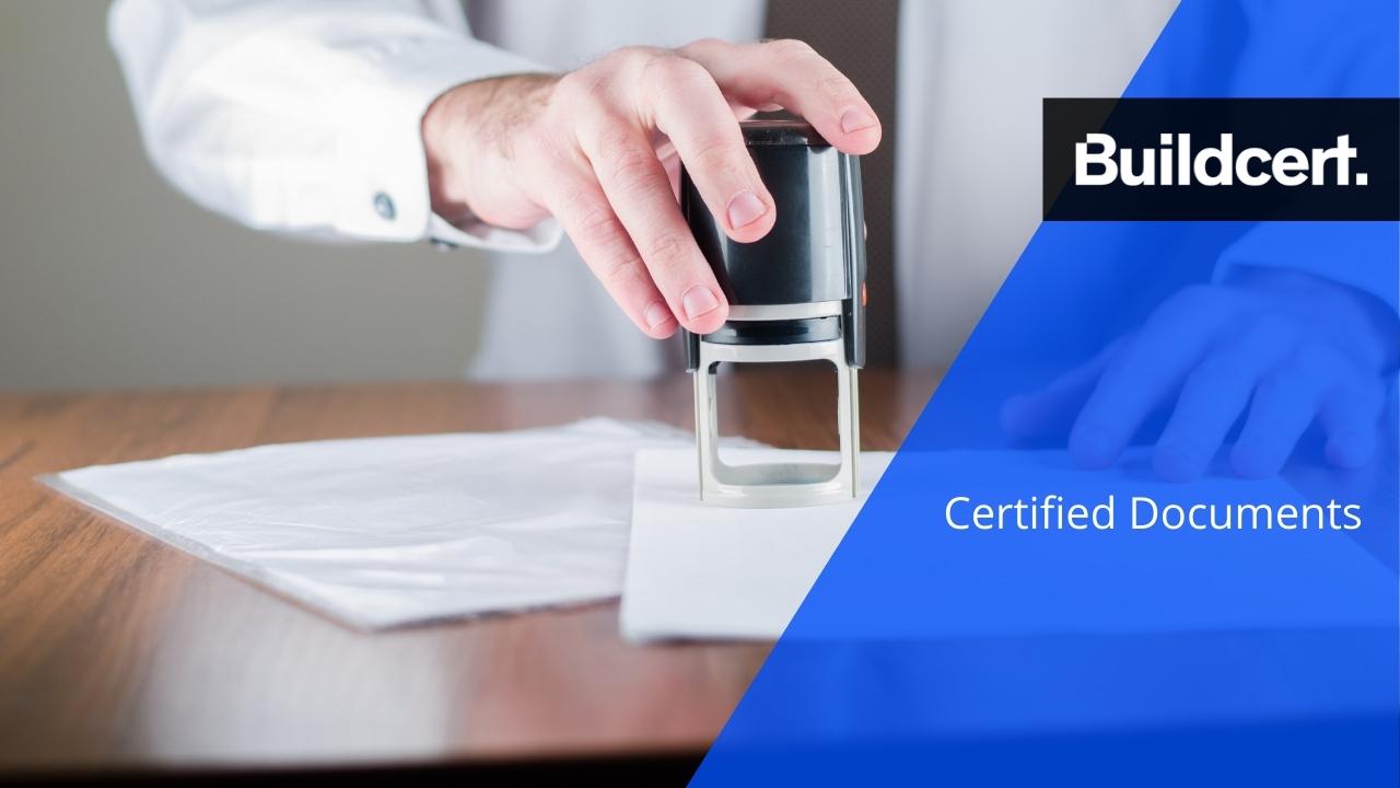 building certifier