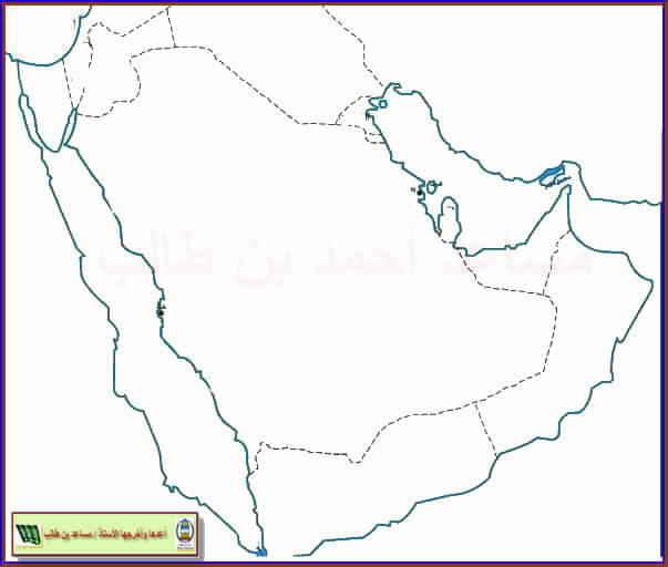 خريطة الدول العربية صماء Kharita Blog