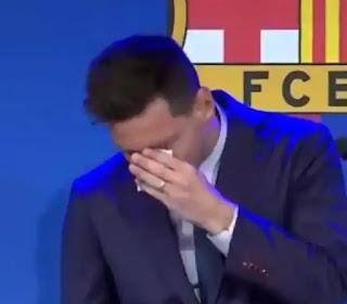 perpisahan yang diinginkan Lionel Messi