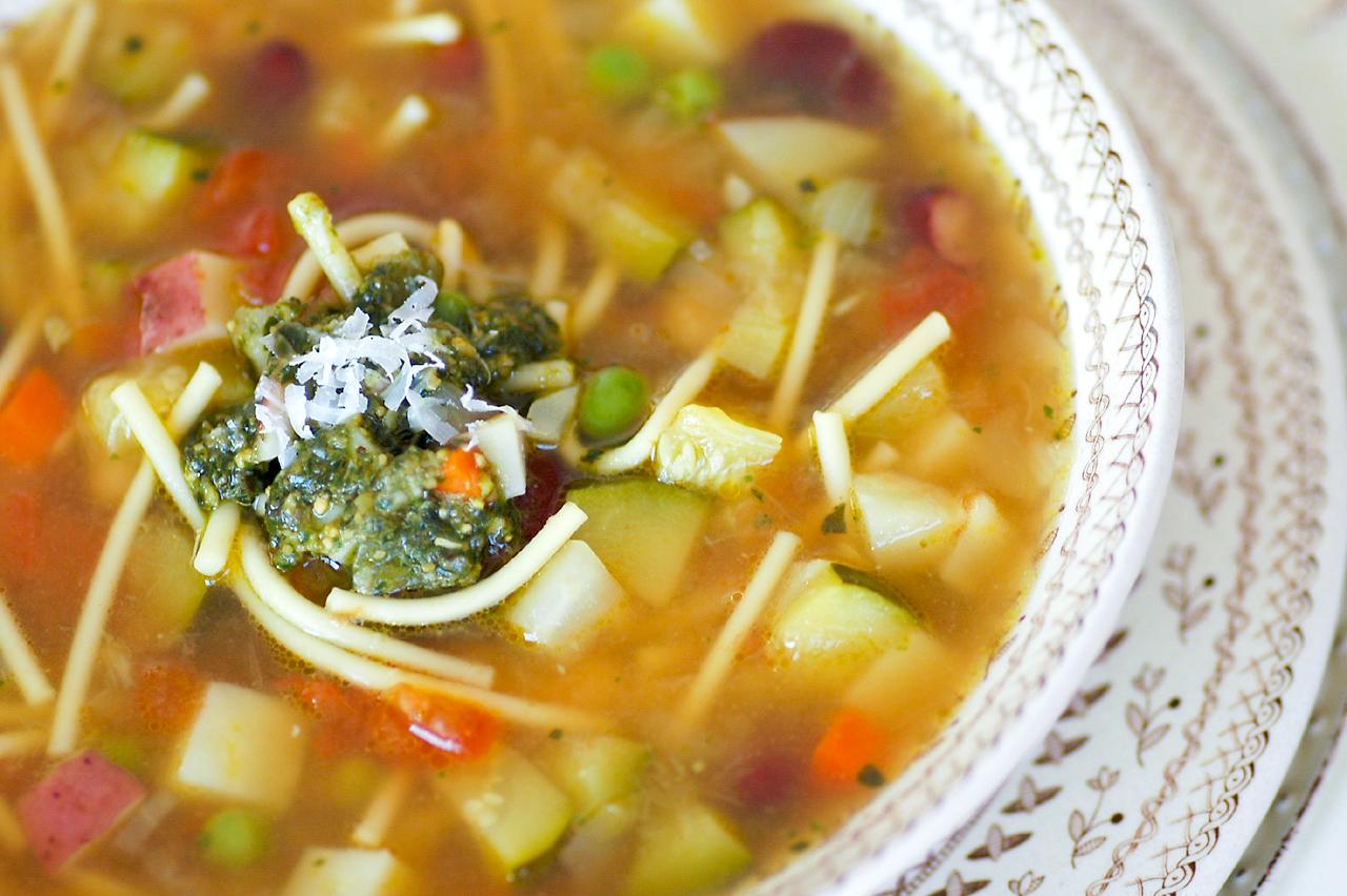 ... Time in the Kitchen: Provençal Vegetable Soup (Soupe au Pistou