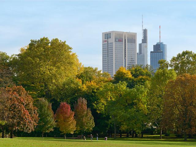 Gruneburgpark em Frankfurt