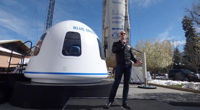 Jeff Bezos 'Blue Origin' to Supply Engines untuk Vulcan Rocket