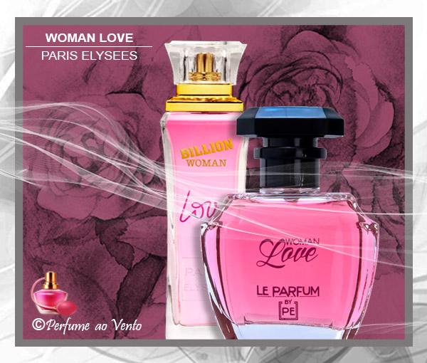 Perfume WOMAN LOVE Paris Elysees, Contratipo do Perfume PINK SUGAR