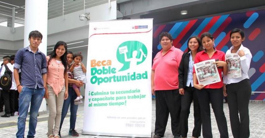 PRONABEC: Beca Doble Oportunidad amplía postulación para quienes no acabaron secundaria - www.pronabec.gob.pe