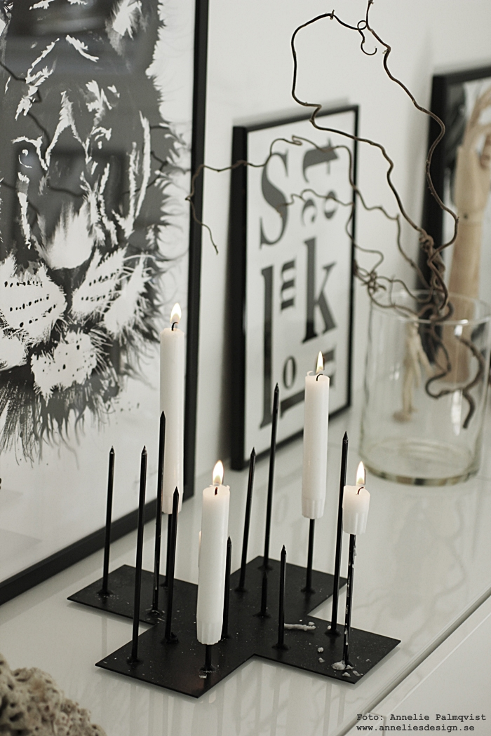 ljusstake, ljusstakar, kors, piggar, stearinljus, ljus, candle cross, annelies design, annelie palmqvist, webbutik, webbutiker, webshop, inredning, svart och vitt, svartvit, svartvita, trollhassel, poster, posters, print, prints, konsttryck, tavla, tavlor, tiger, tigrar, stockholm, grafisk, pinnstol, stol, affisch, affischer, plakat, plakater, nettbutikk, nettbutikker, bestå, ikea, skåp, vitt, vit, vita,