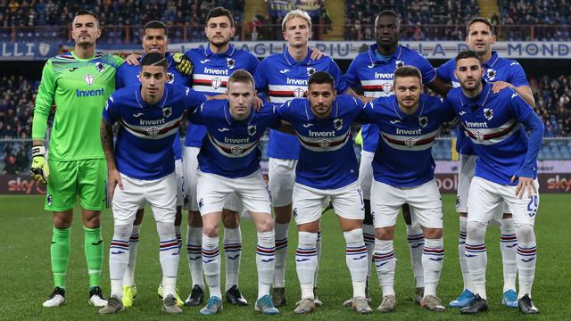 Jadwal Skuad Sampdoria 2020
