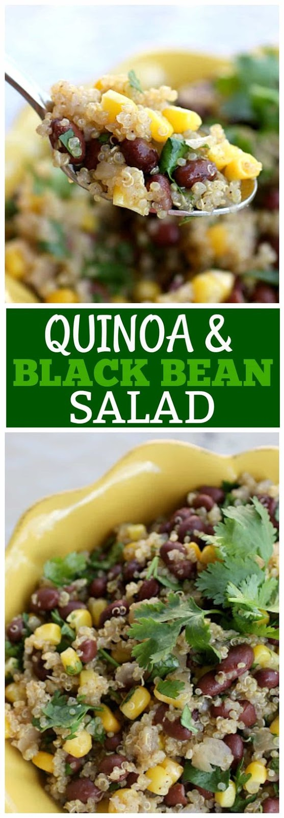 Quinoa and Black Bean Salad (Vegan)