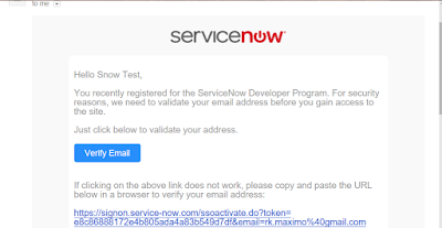 ServiceNow Instance Creation for Developers