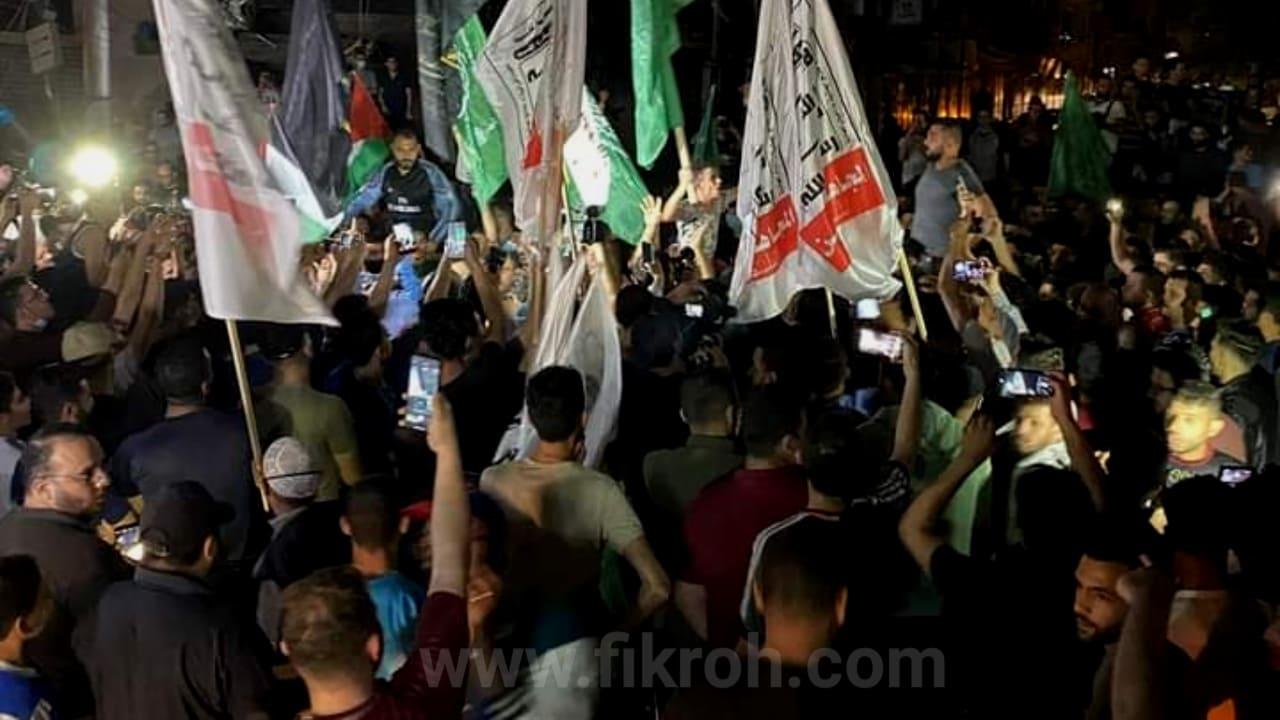 Rayakan Kemenangan Atas Israel, Ribuan Warga Gaza Turun Ke Jalan