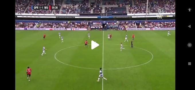 Queens Park Rangers  4:2  Manchester Utd  / Friendly Match