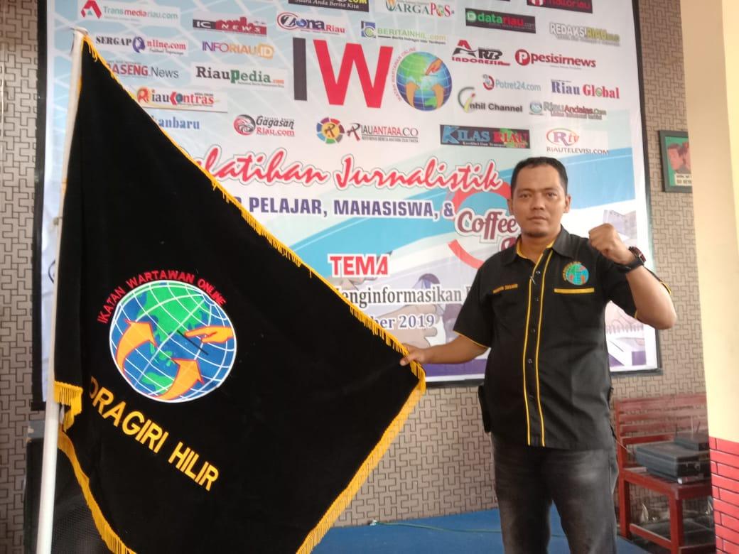 Ketua IWO Inhil Rencana Surati Kemenkumham Terakit Sikap Pegawai Lapas Tembilahan Kepada Wartawan