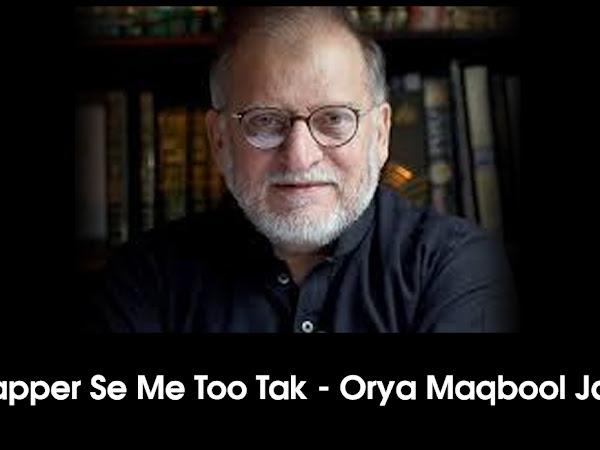 Flapper Se Me Too Tak - Orya Maqbool Jan