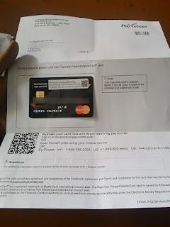 payoneer, kartu payoneer, kantor pos