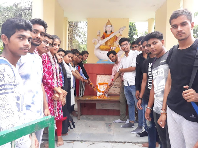 The demand for giving Bharat Ratan to Major Dhyanchand of the Young Agaz Organization at Nehru College