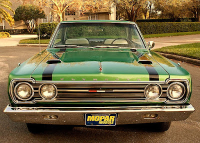 1967 Plymouth GTX 440 Magnum Sports Coupe Front