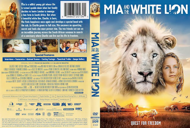 Mia And The White Lion DVD Cover