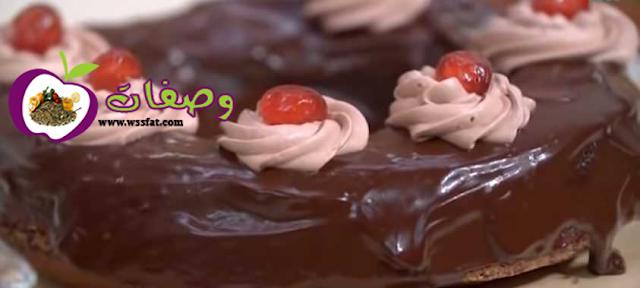 كيكه الشوكولاته فاطمه ابو حاتي