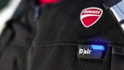 jaket airbag ducati