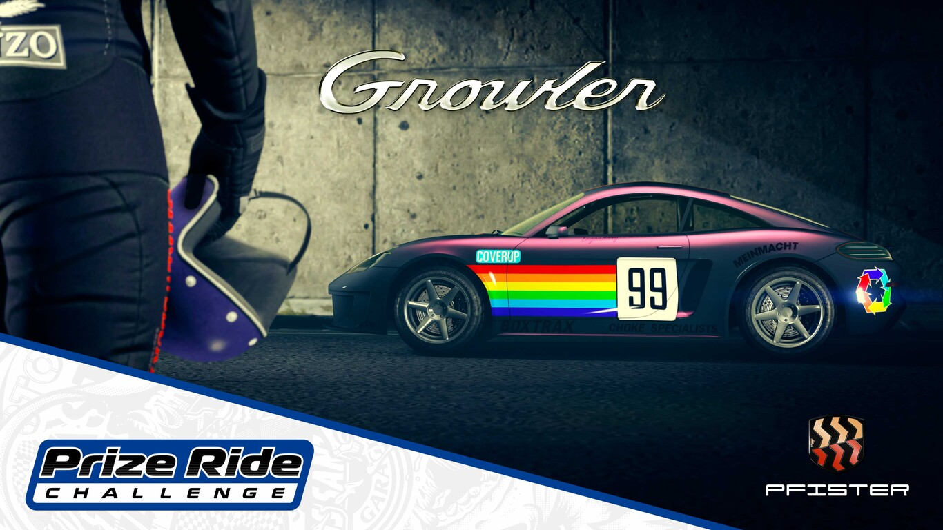 GTA Online: how to get the Pfister Growler car for free
