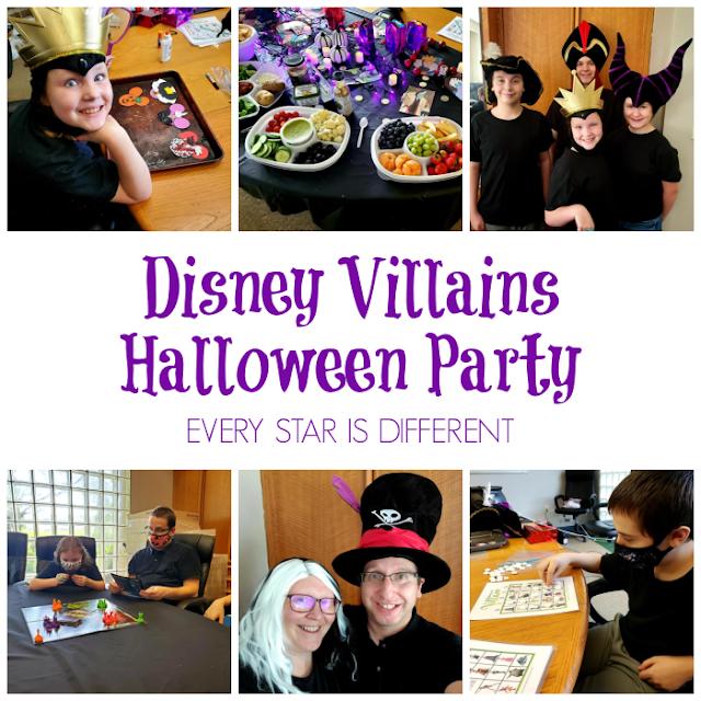 Disney Villains Halloween Party