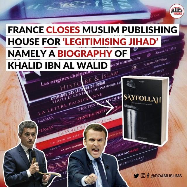Tuai Kecaman! Prancis Boikot Kantor Penerbit Muslim Hanya Gegara Promosikan Sejarah Islam
