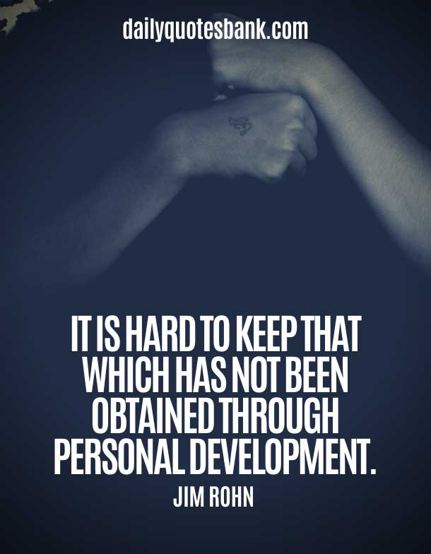 Good Quotes About Personality Development and Character