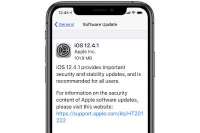 Apple Rilis iOS 12.4.1, Untuk Tutup Celah Jailbreak