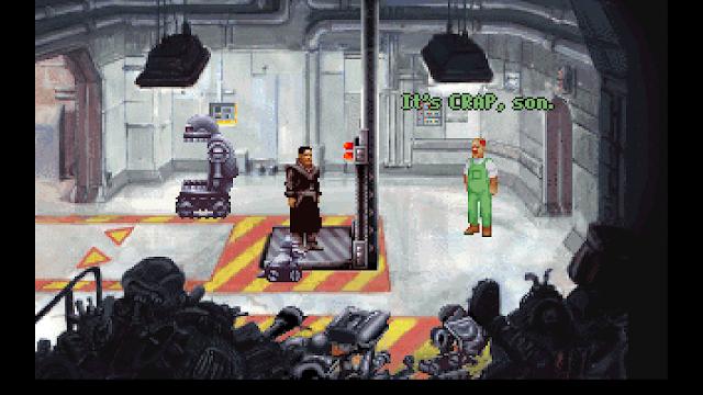 Screenshot of Hobbins insulting your robot assembling abilities