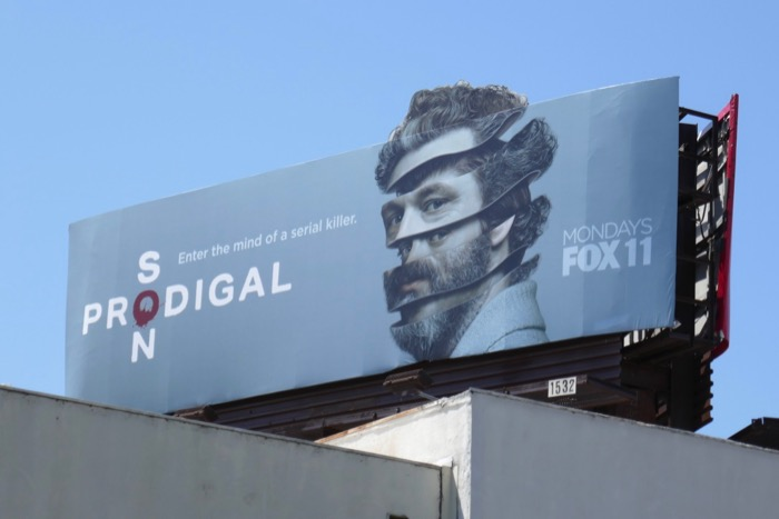 Michael Sheen Prodigal Son extension billboard