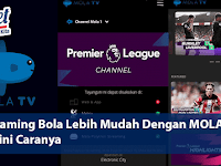 Layanan Live Streaming Garuda Select vs Reading U-18 di Mola TV
