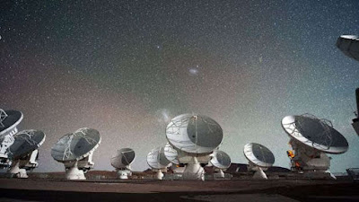 ALMA Observatory in Northern Chile.