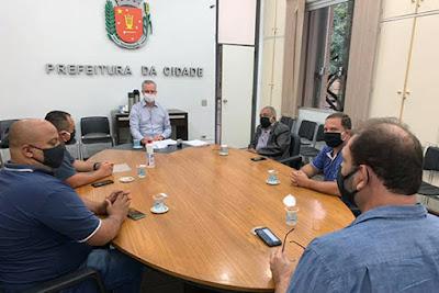 Reunião do Sinttromar com o prefeito Ulisses Maia
