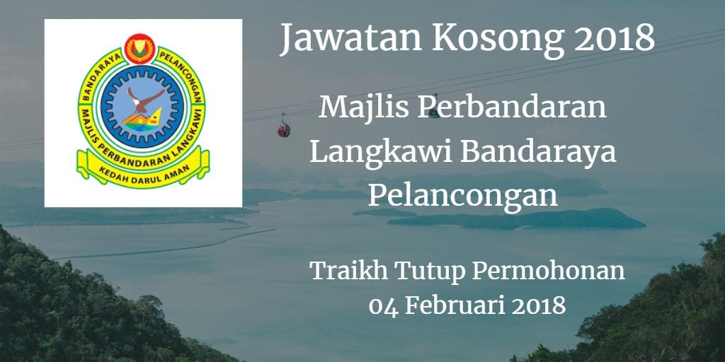 Jawatan Kosong MPLBP 04 Februari 2018