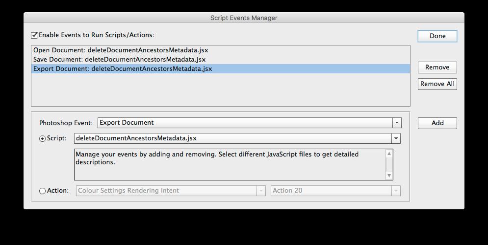 Prepression: InDesign Alt Text from Image XMP Metadata