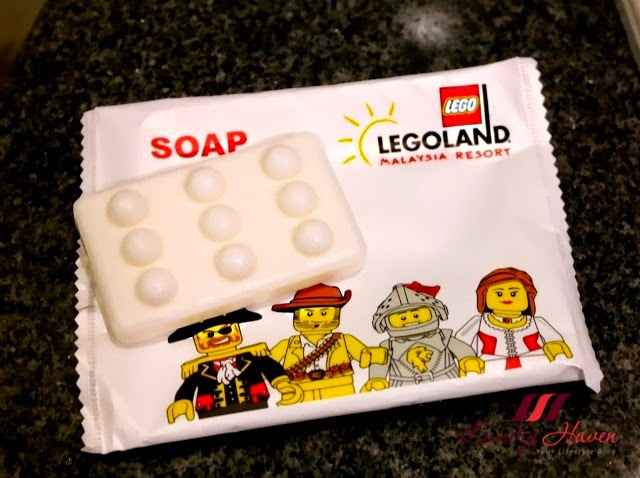 legoland hotel malaysia resort lego bathroom amenities soap