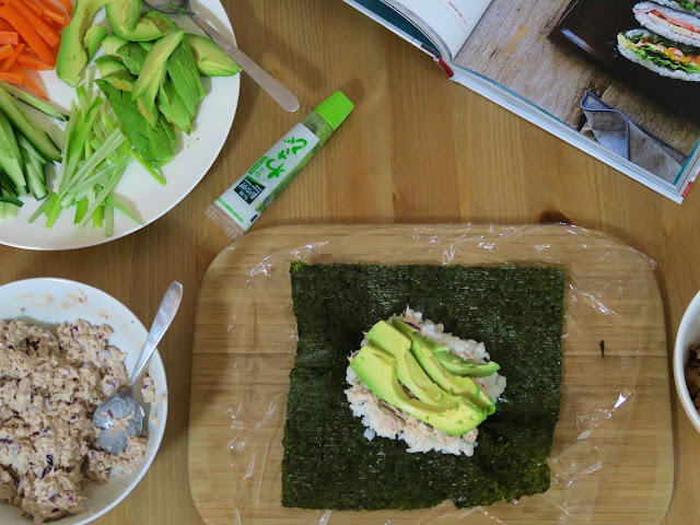 The Zen Kitchen by Adam Liaw | sushi sandwiches | salt sugar and i