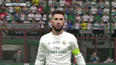 PES 2016 Kits Real Madrid and Atletico Champions League Final 2016 by ser_rm