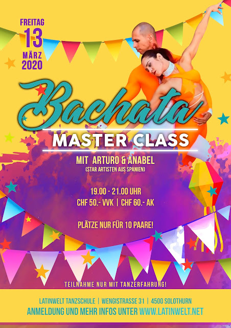 BACHATA MASTER CLASS