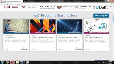كورسات اون لاين - شرح منصة ايديكس edX