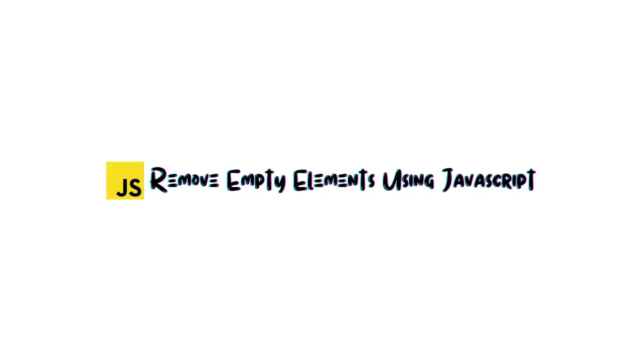 Examples of empty elements are as follows