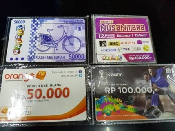 Jual Voucher TV Online