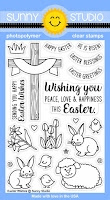 Sunny Studio Stamps: Introducing Easter Wishes Photo-polymer Clear Stamps
