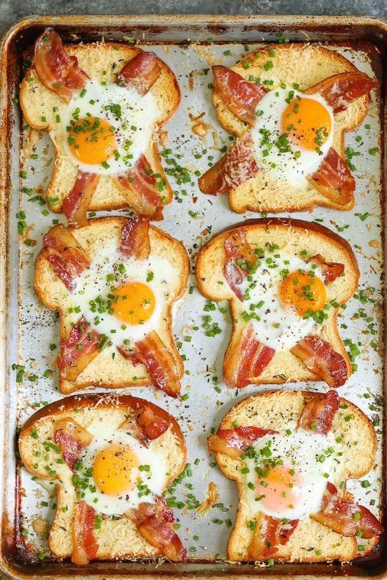 SHEET PAN EGG-IN-A-HOLE #recipes #pizza #pizzarecipe #food #foodporn #healthy #yummy #instafood #foodie #delicious #dinner #breakfast #dessert #lunch #vegan #cake #eatclean #homemade #diet #healthyfood #cleaneating #foodstagram