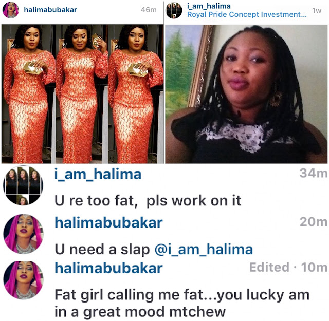 "For bullying her over being ""too fat,"" Halima Abubakar puts her namesake on blast"